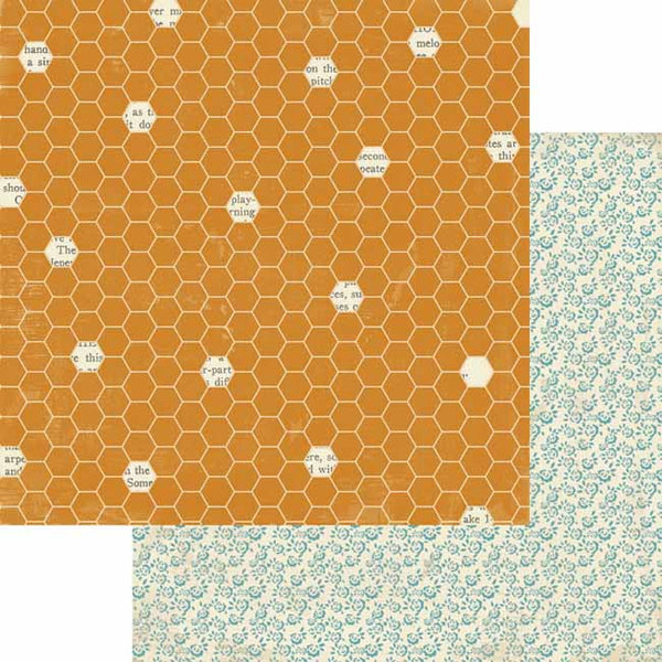 Lily Bee Designs Paper Collection - Autumn Spice - Pumpkin Spice Paper