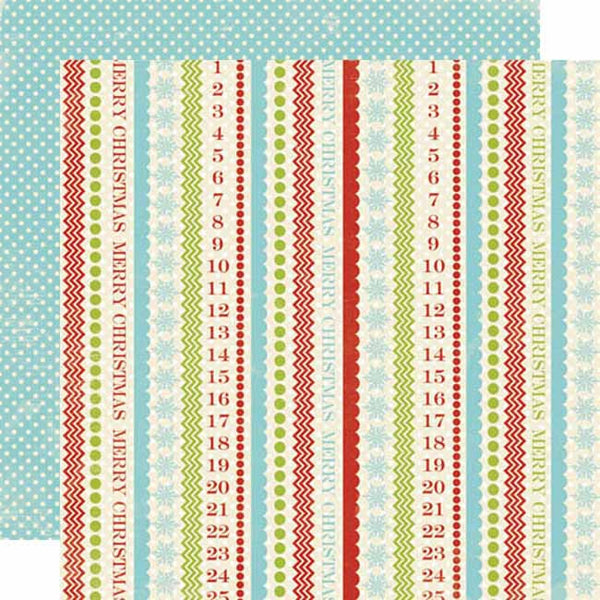 Lily Bee Designs Paper Collection - Christmas Cheer - Figgy Pudding Paper