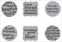Making Memories - Metal Sayings - Friends