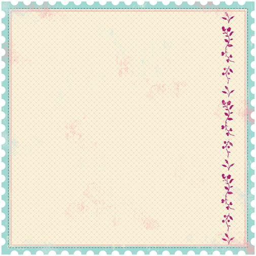 Making Memories Paper Collection - Noteworthy - Delany Die Cut Stamp