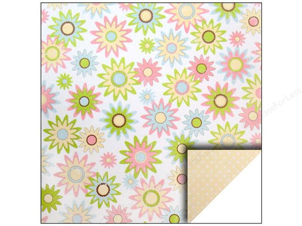 Making Memories Paper Collection - Garden Party - Flower Paper