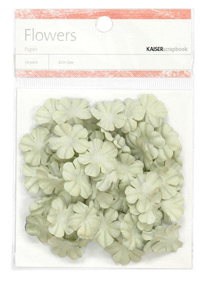 Kaiser Craft - Flowers Mint Small