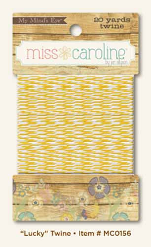My Mind's Eye Paper Collection - Miss Caroline - Lucky Twine