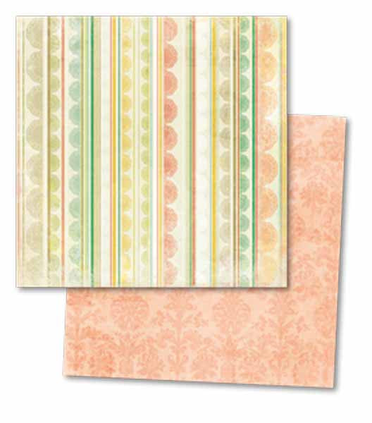 My Mind's Eye Paper Collection - Howdy Doody - Baby Lacey Paper
