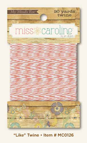 My Mind's Eye Paper Collection - Miss Caroline - Like Twine