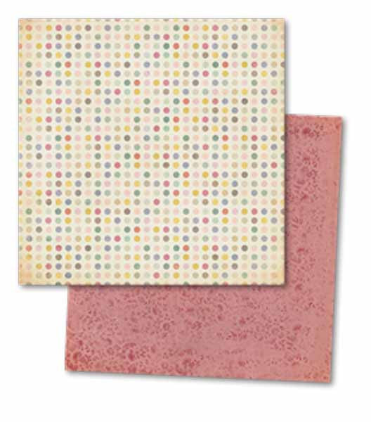 My Mind's Eye Paper Collection - Fiddlesticks - Home Dotted Paper