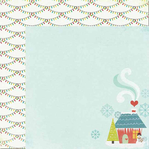My Mind's Eye Paper Collection - Winter Wonderland  - At Home paper
