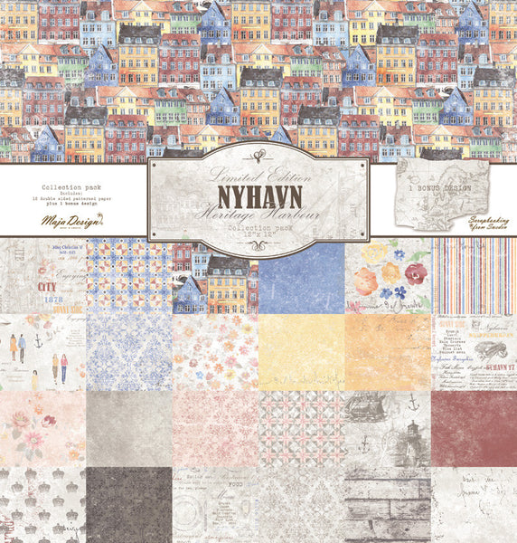 Maja Design Paper Collection - Nyhavn - Collection pack