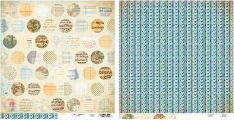 The Girls Paperie Paper Collection - On Holiday - Mixed Dot Paper