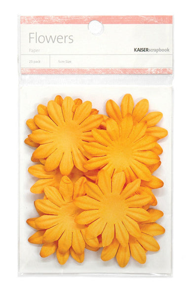 Kaiser Craft - Flowers Orange Large