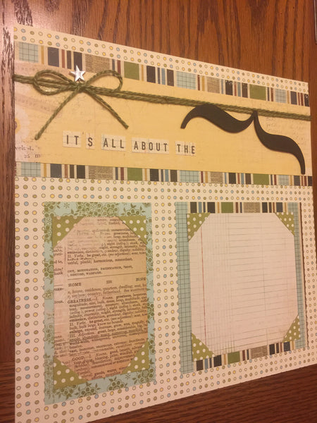 All about the Mustache Layout kit - Becky Ayers