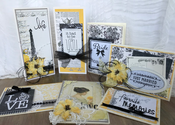Life, Love and Wedding Cards Kit - Sheila Rumney