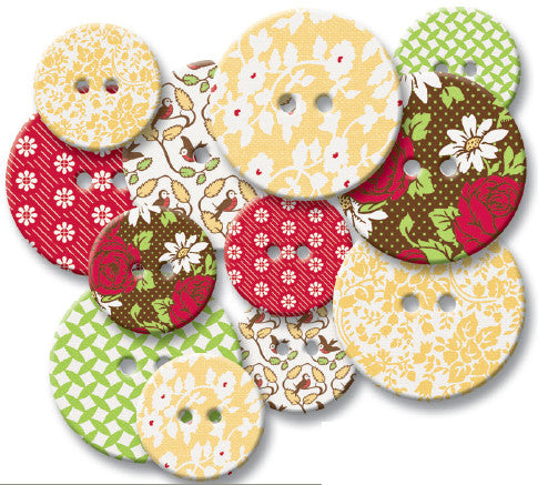 Jenni Bowlin - Porch Swing Chipboard Buttons