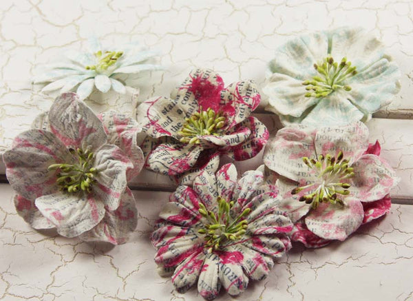 Prima Marketing - Shabby Chic - Flowers