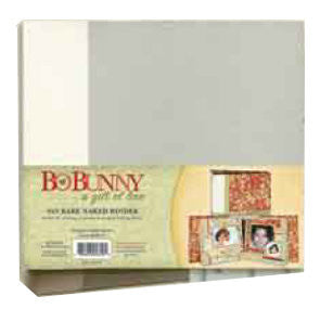 Bo Bunny Press - Bare Naked - 9x9 Chipboard binder