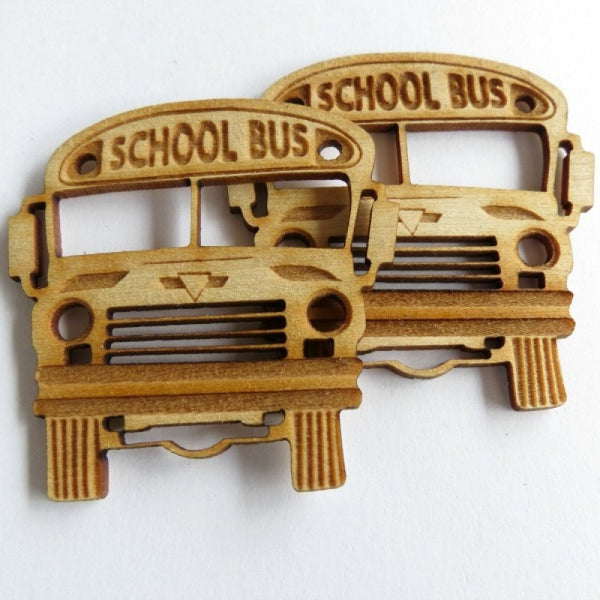 Creative Embellishments -School bus Set