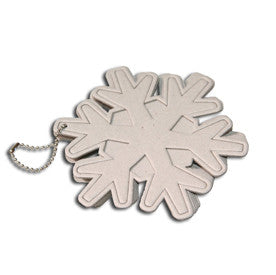 Maya Road - snowflake chipboard