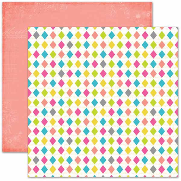 Pink Paislee - Soiree - Diamond Paper