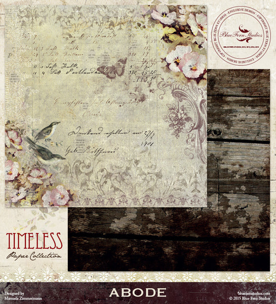 Blue Fern Studios Paper Collection - Timeless - Abode