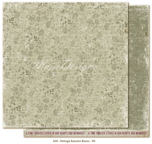 Maja Design Paper Collection - Vintage Autumn - Basics No. VII