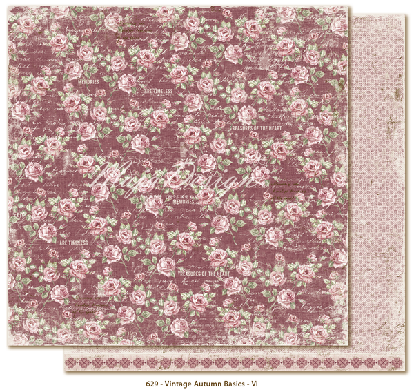 Maja Design Paper Collection - Vintage Autumn - Basics No. VI