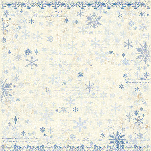 Maja Design Paper Collection - Vintage Winter - It's Snowing