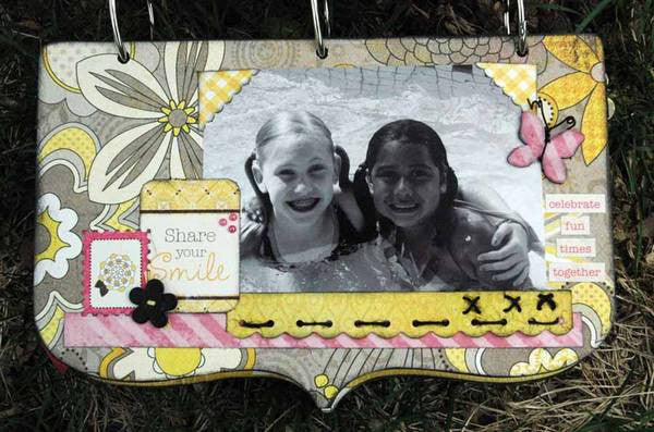 Julie Dittmer - You Are My Happiness Mini Album / Layout Kit
