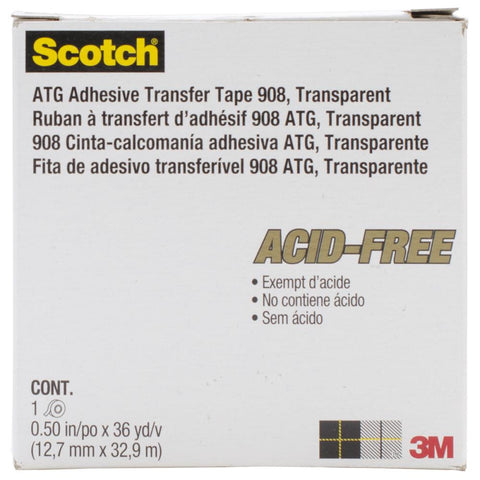 "ATG 1/2"" Tape Adhesive Single Roll"