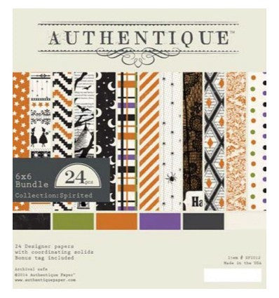 Authentique Paper Collection Spirited 6x6 Pad