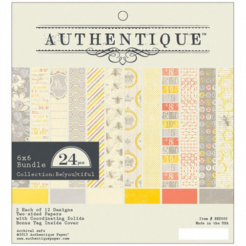 Authentique - Be(you)tiful - 6x6 Pad