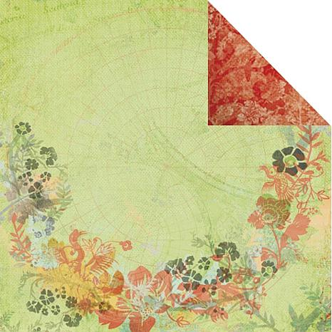 Kaisercraft Lush - Bonzai- Double-Sided Paper