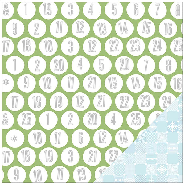 Magical Double-Sided Cardstock  - Countdown