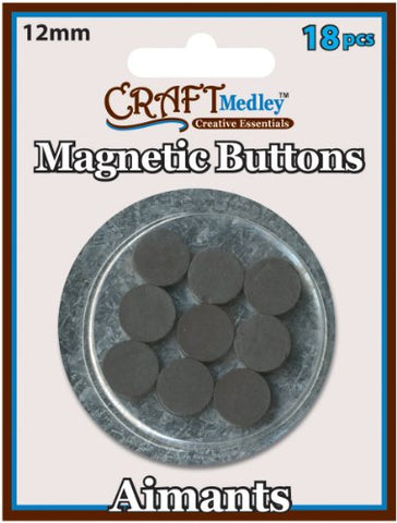 Craft Medley magnetic buttons
