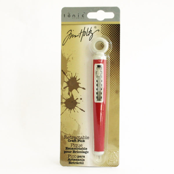 Tim Holtz Idea-ology tonic Retractable craft pick