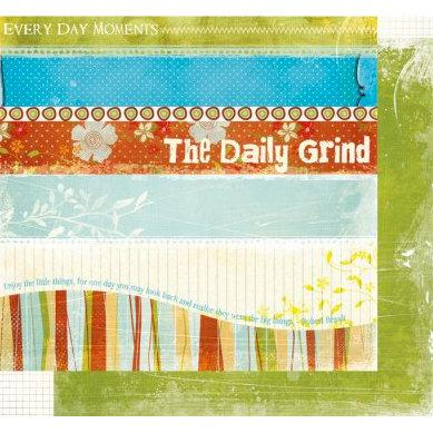 Fancy Pants Paper Collection - The Daily Grind - Strips Paper