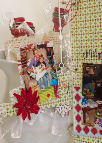 Christmas Memories Album kit - Sheila Rumney