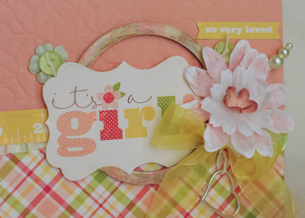 Its a Girl Album kit - Sheila Rumney