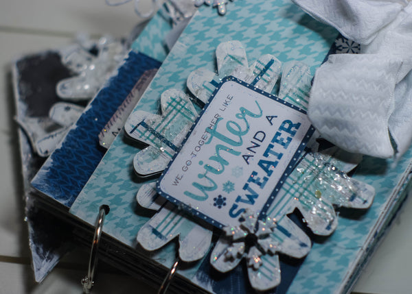 Winter Memories Mini Album Kit - Sheila Rumney