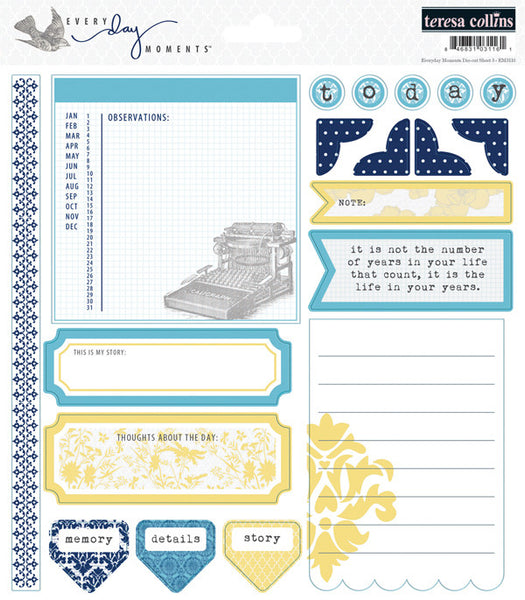 Teresa Collins Everyday Moments - Journaling Sentiments