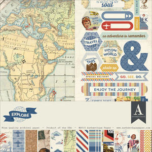 Authentique - Explore Paper Collection