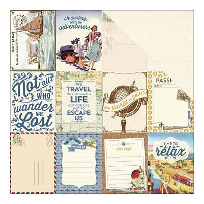 Authentique - Explore 3x4 Journaling Cards
