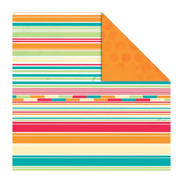KAISERCRAFT-Funfair Double sided paper - Bigtop