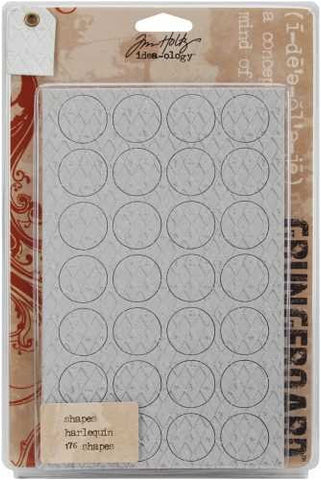 Tim Holtz - Grungeboard Shapes Dots