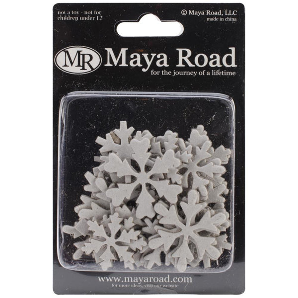 Maya Road Chipboard Snowflakes