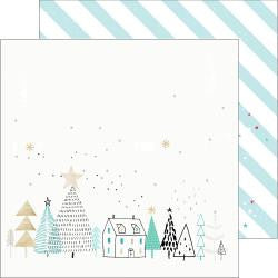 Pinkfresh Studio - Christmas Wish - Starry Night Paper
