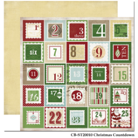 Carta Bella - So this is Christmas - Christmas Countdown Paper