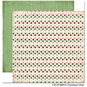 Carta Bella - So this is Christmas - Christmas Dots Paper