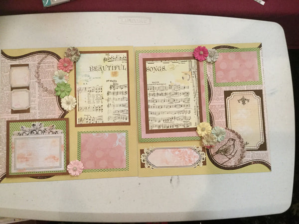 Sing a Song  - Pam Ruth layout kit