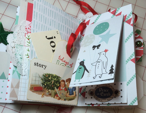 Very Bear-y Christmas Mini Album - Pam Ruth