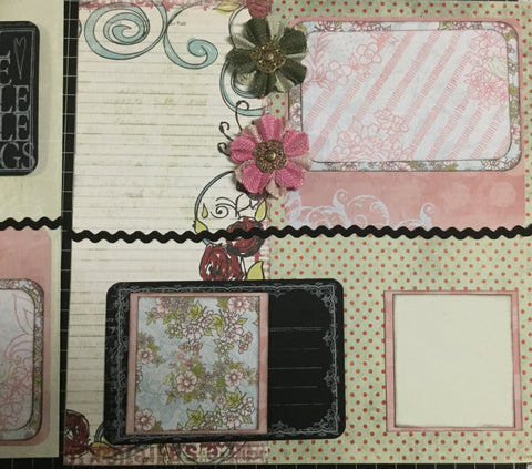 All the Simple little things Layout Kit - Pam Ruth